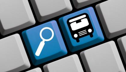 Bus online suchen, finden und buchen