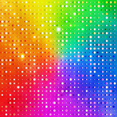 Rainbow background.
