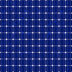 Solar panel, polycrystalline - seamless tileable
