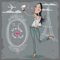 kiss from Paris
