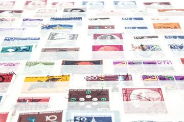 Briefmarken-Sammlung