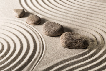 Printed roller blinds Stones in Sand zen stones