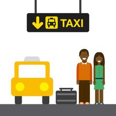 taxi stop