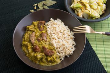 Curry vom Schwein