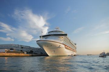 Cruise liner. Venezia, Italy