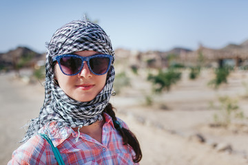 girl in egypt