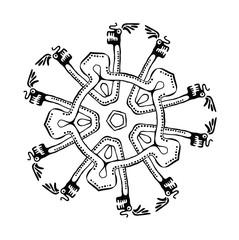 vector ethnic ornament
