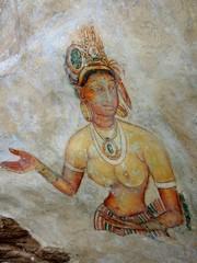 Gallery of frescos in Sigiriya