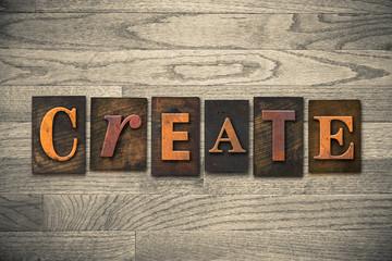 Create Wooden Letterpress Theme