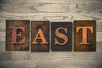 East Wooden Letterpress Theme