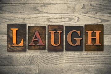 Laugh Wooden Letterpress Theme