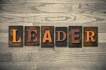Leader Wooden Letterpress Theme