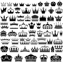 Crown Design Set - 70 Illustrations