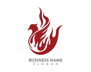 Falcon Logo Template 4