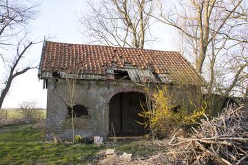old barn from farm