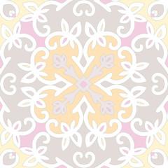 Elegant vector seamless ethnic pattern.