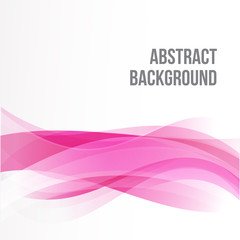Abstract background Ligth pink curve and wave element vector ill