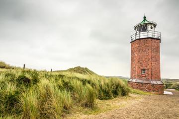 Wall Mural - Leuchtturm in Kampen auf Sylt