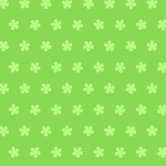 Nahtloses skalierbares grünes Frühlingsmuster