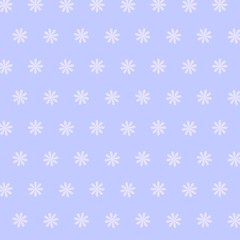 Nahtloses skalierbares blaues Blumenmuster