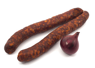 Sausage and Ren onion