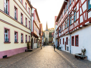 Karlstadt at the river Main