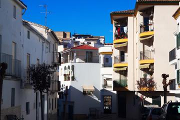 Square in Quesada  town