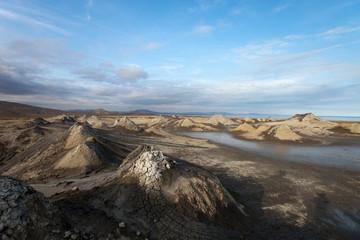 mud vulcano, Gobustan, Azerbaijan
