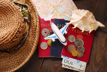 summer holiday traveling  concept