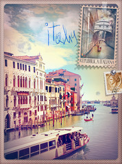 Canvas Prints Imagination Holidays in Italy and Venice series