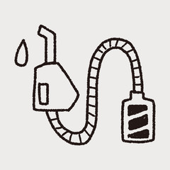 Environmental protection concept; Reduce the use of gasoline, re