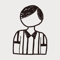 referee doodle