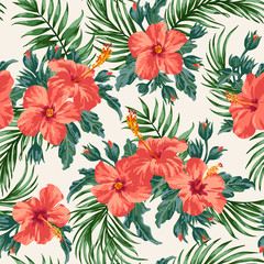 Seamless exotic pattern.