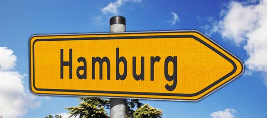 Wegweiser Hamburg