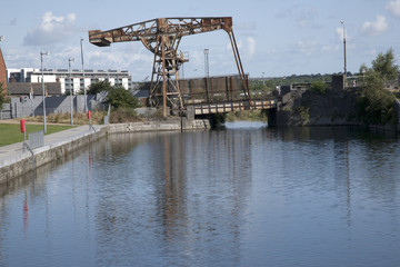 Royal Canal, Docklands, Dublin