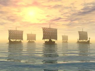 Wikingerschiffe