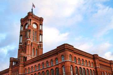 Red City Hall in Berlin