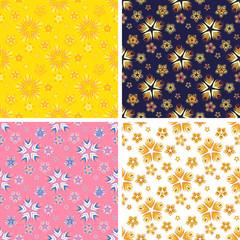 abstract art pattern set