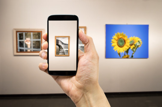 photograph a painting