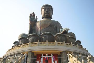 Tian Tan Buddha Statue, Polin monastery