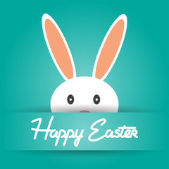 Happy Easter holiday background vector illustration