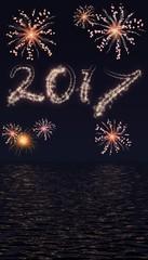 Vuurwerk show 2017 boven water