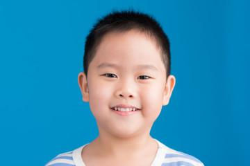 Smiling Chinese kid