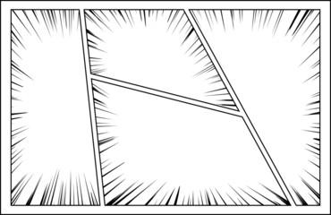 コミック 集中線