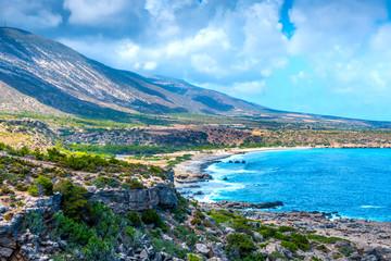 Rocky Coast of Crete, Greece