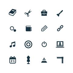 art, design icons set