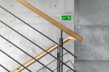 Treppenhaus Notausgang