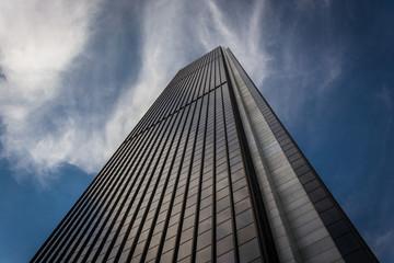 Modern skyscraper in downtown Los Angeles, California.