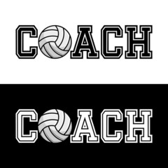 Coach T-shirt Typography, Vector Illustration