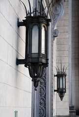 Gothic lamps